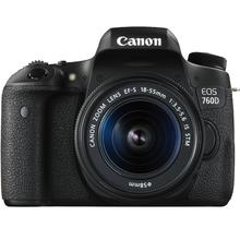 Canon EOS 760D + 18-55 IS STM + 55-250 IS STM