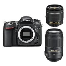 Nikon D7100 + 18-55 AF-P VR + 55-300 AF-S DX VR