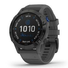 Garmin Fenix 6 Pro Solar, Black/Slate Gray Band
