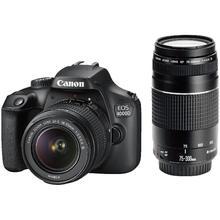 Canon EOS 4000D + EF-S 18-55 DC III + EF 75-300 DC III