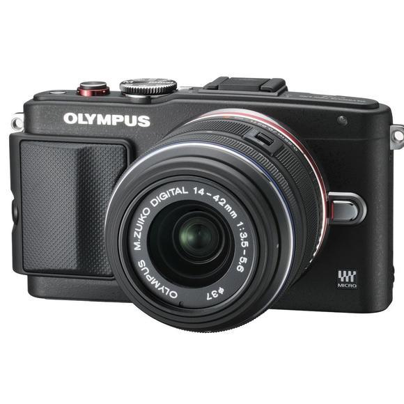Olympus PEN E-PL6 + objektiv 14-42mm II R black  - 1