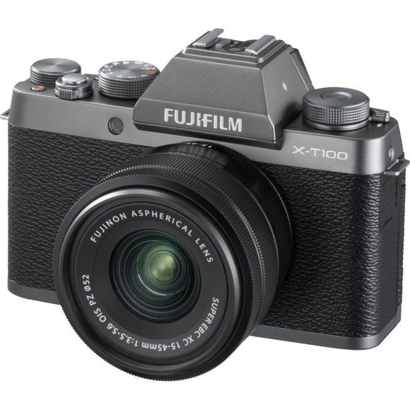 Fujifilm X-T100 Silber + XC 15-45mm f/3.5-5.6 OIS PZ  - 1