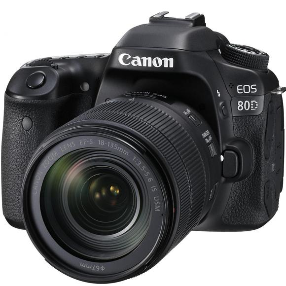 Canon EOS 80D + EF-S 18-135mm f/3,5-5,6 IS USM  - 1