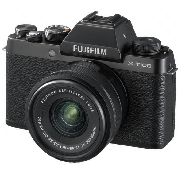 Fujifilm X-T100 Schwarz + XC 15-45mm f/3.5-5.6 OIS PZ  - 1