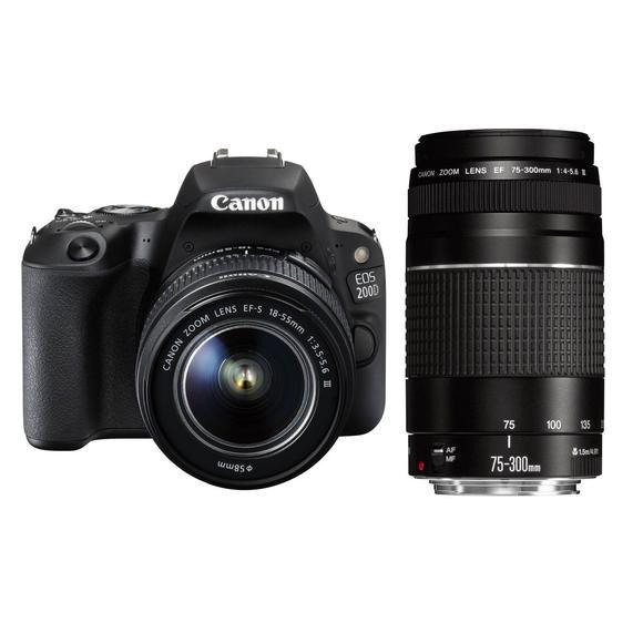 Canon EOS 200D + EF-S 18-55 DC III + EF 75-300 DC III   - 1