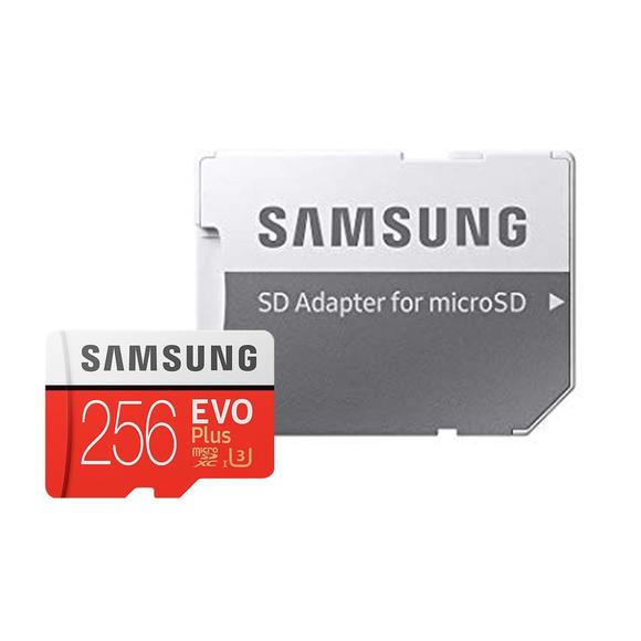 Samsung microSDXC Card 256 GB EVO Plus 100 MB/s (SD Adapter), MB-MC256GA  - 1