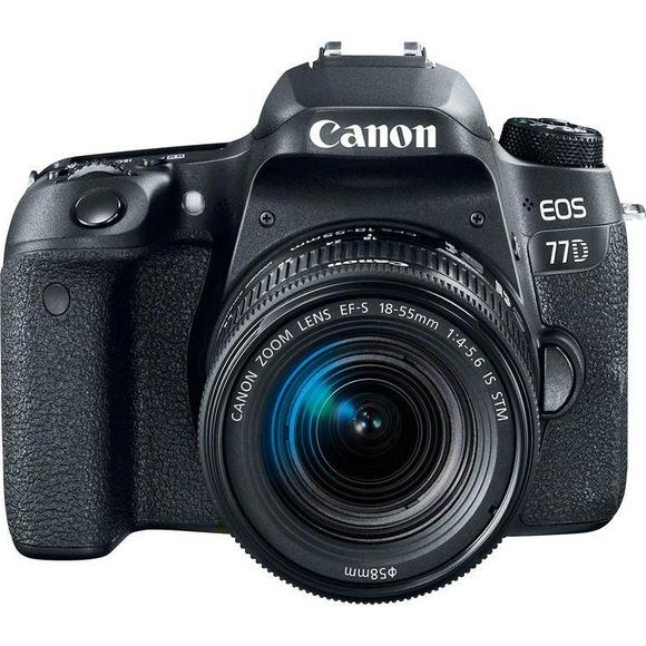 Canon EOS 77D + EF-S 18-55 IS STM  - 1