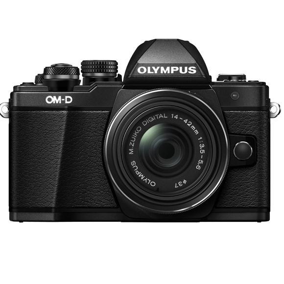 Olympus E-M10 Mark II + 14-42mm, black  - 1