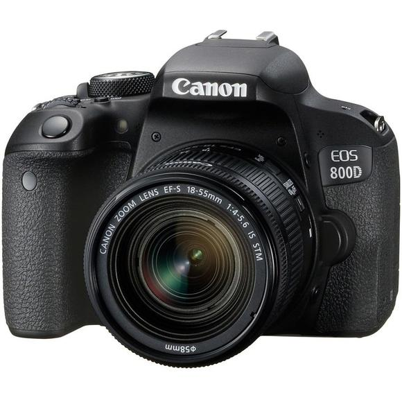 Canon EOS 800D + 18-55 IS STM + 55-250 IS STM  - 1
