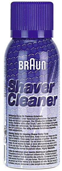 Braun cleaning spray