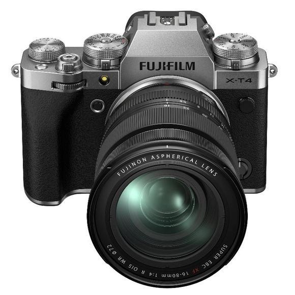 Fujifilm X-T4 + XF 16-80 mm f/4,0 R OIS WR, Silver  - 1