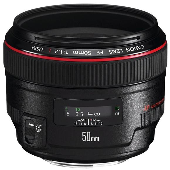 Canon EF 50mm f1.2 L USM  - 1