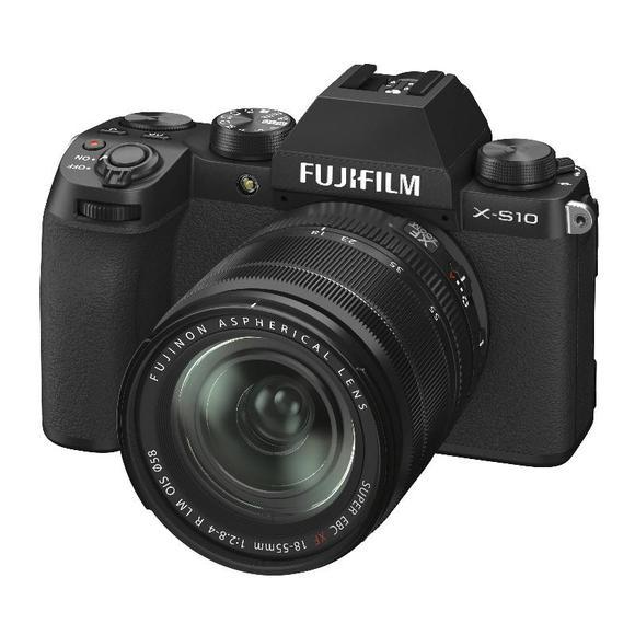 Fujifilm X-S10 + XF 18-55mm f/2,8-4, Black  - 1