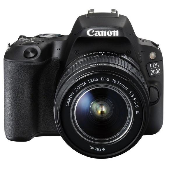 Canon EOS 200D Kit 18-55 mm III schwarz  - 1