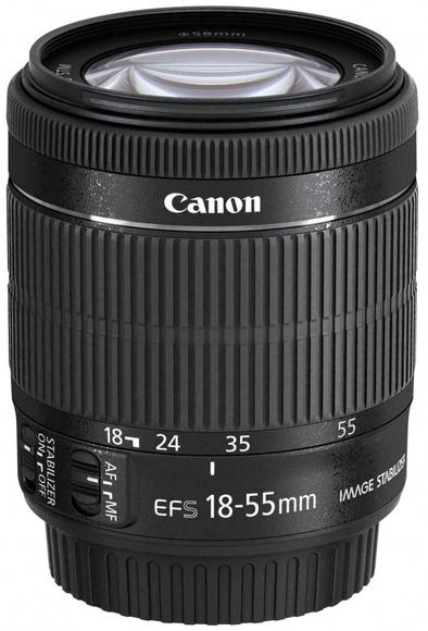 Canon EF-S 18-55mm f/3.5-5.6 IS STM - BULK  - 1