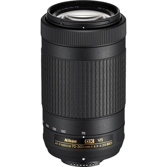 Nikon 70-300mm F/4.5-6.3G ED AF-P DX VR  - 1