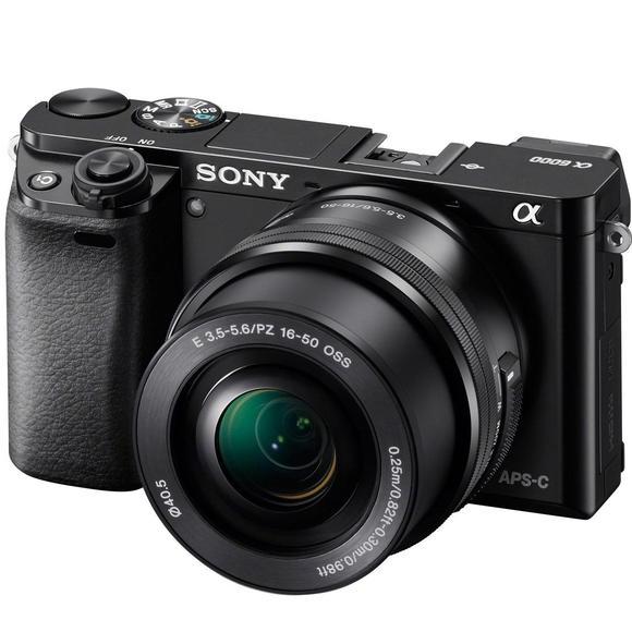 Sony Alpha A6000 + 16–50mm, black  - 1