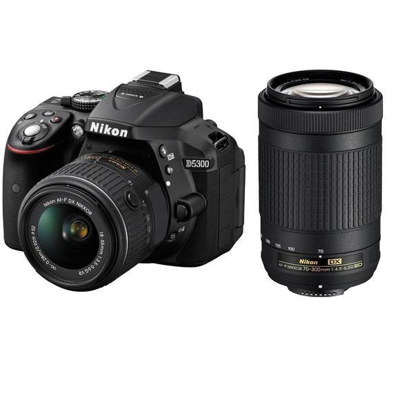 Nikon D5300 + 18-55 VR AF-P + 70-300 AF-P DX  - 1