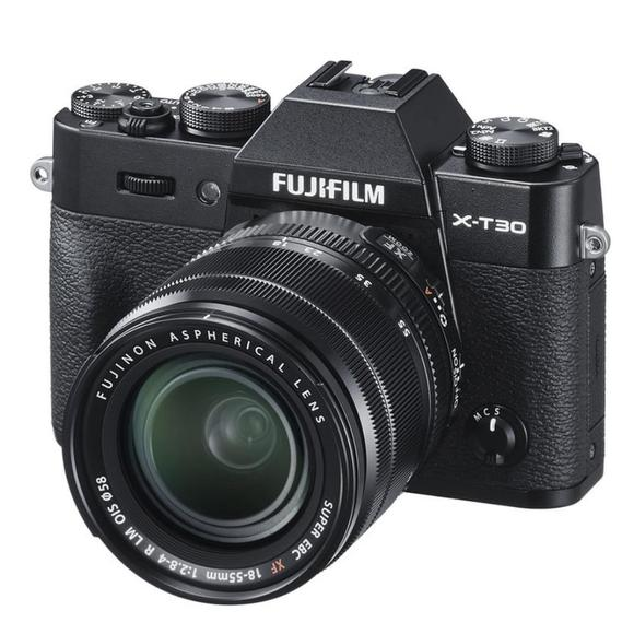 Fujifilm X-T30 +  XF 18-55 mm Black  - 1