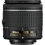 Nikon 18-55mm f/3,5-5,6G AF-P DX VR  - BULK - 2/3